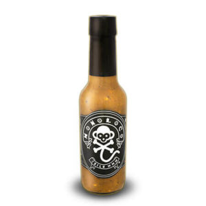 Chile Monoloco Hot Sauce bottle XXX