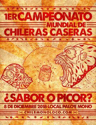 Afiche Sabor o Picor