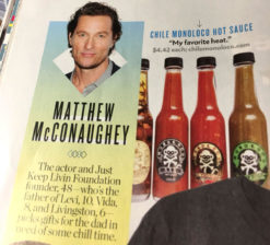 people magazine Matthew MacConaughey