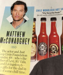 people magazine Matthew MacConaughey